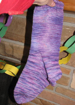 Purple sock blog