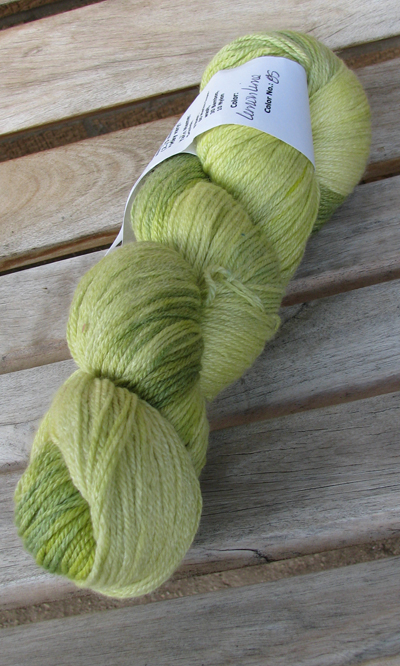 Yarn hollow lime