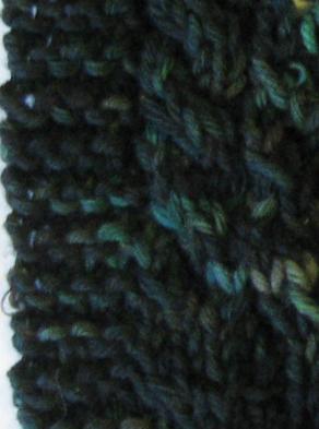 Yarn crawl 1 swatch 2