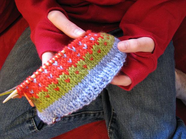 Nov belle knitting