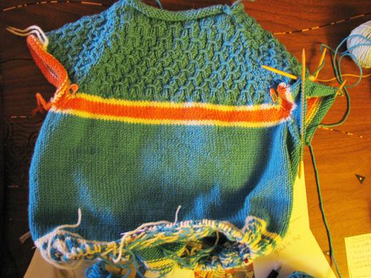 November belle's sweater