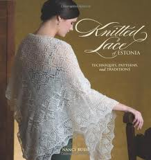 Knitted lace cover