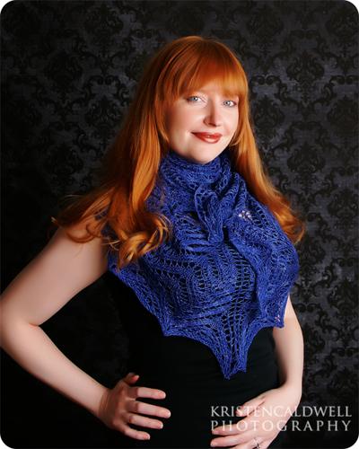 Shaping shawls arabella-shawl