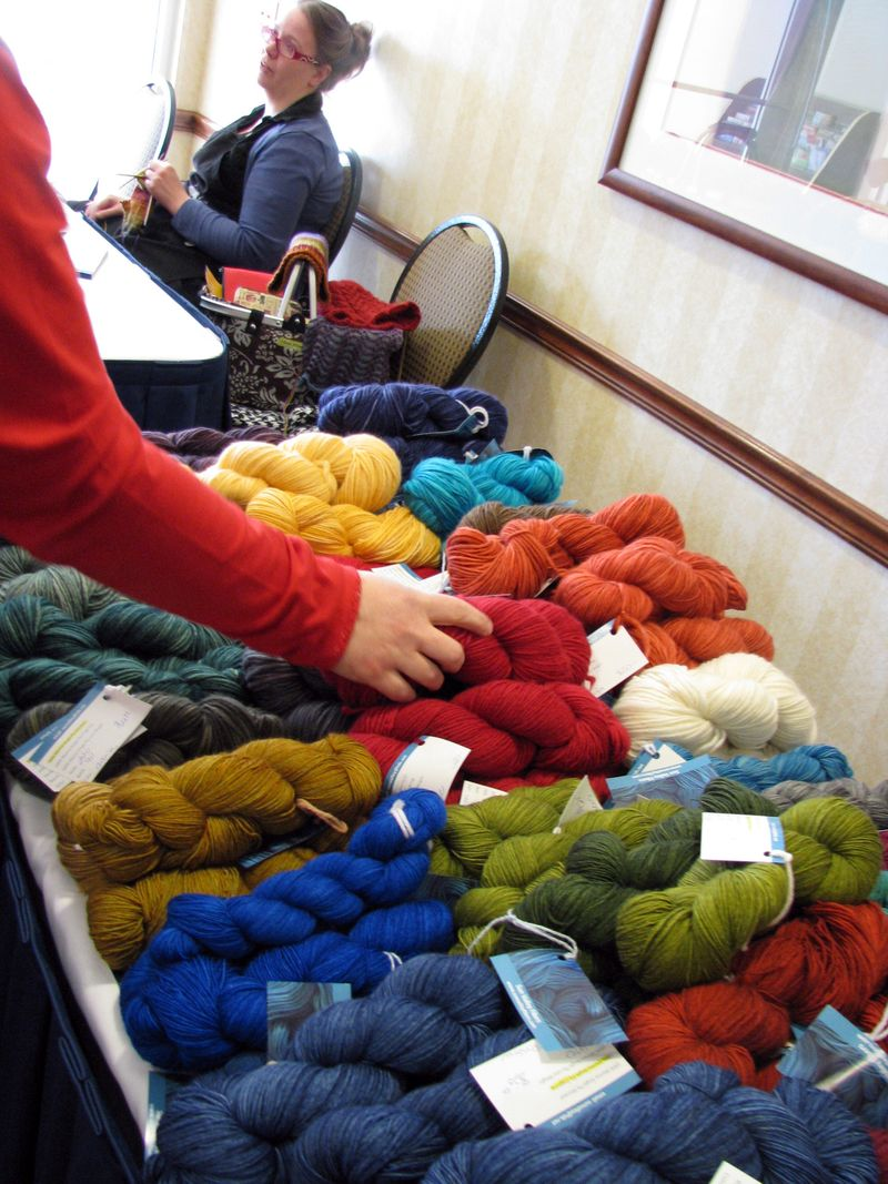 Retreat yarn