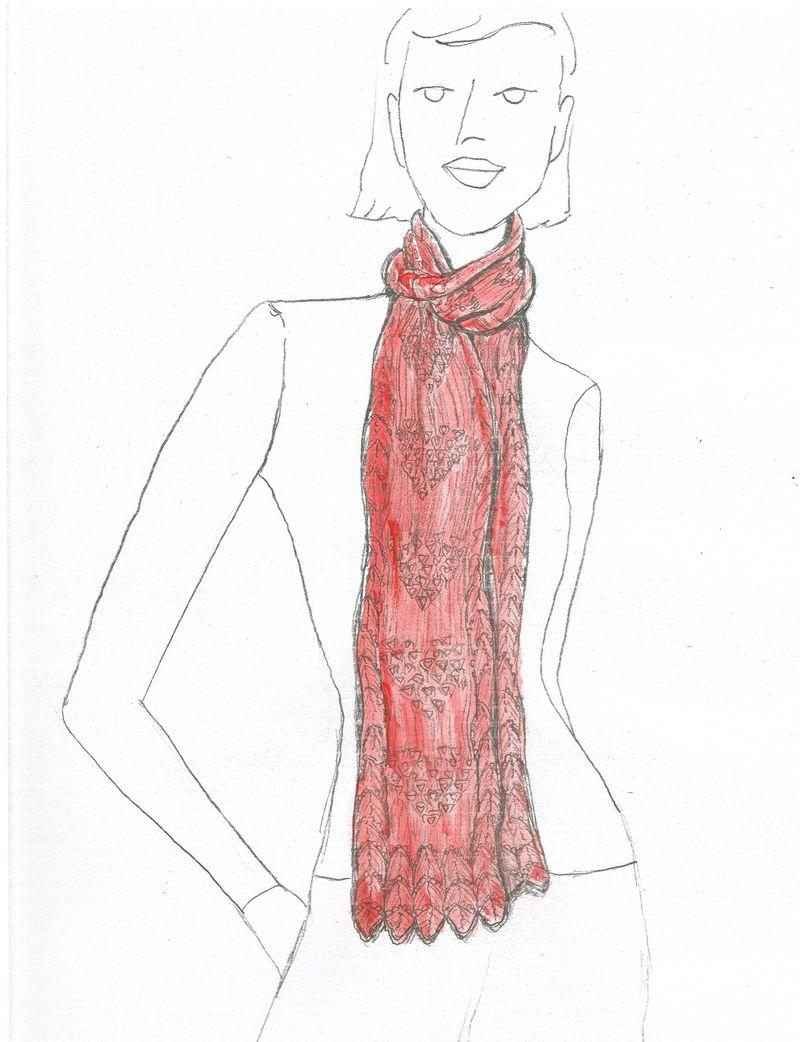 Scarf Sketch Carolyn Kern (3)
